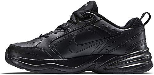 Nike Air Monarch IV, Zapatillas de Gimnasia para Hombre, Negro (Black/Black 001), 44 EU