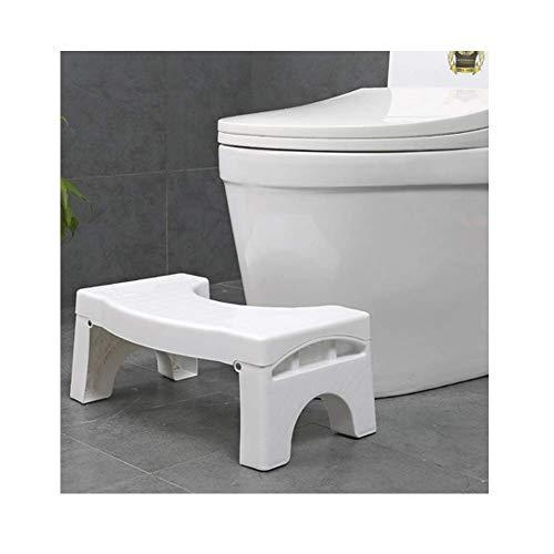 Squat n Go white Le tabouret au design innovant exclusif qui reproduit la posture id/éale pour aller aux toilettes