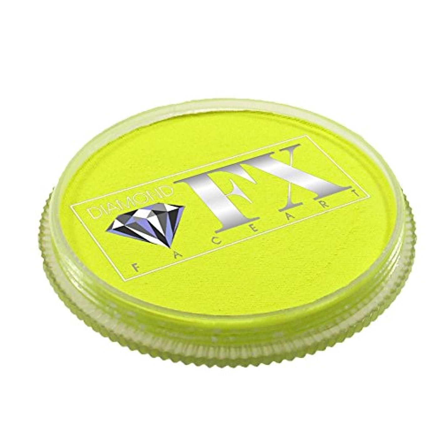 Diamond FX Neon Face Paint - Yellow (30 gm)