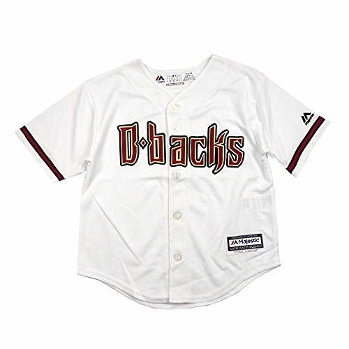 Arizona Diamondbacks Home White Cool Base Child Size Jerseys (Medium (5/6))