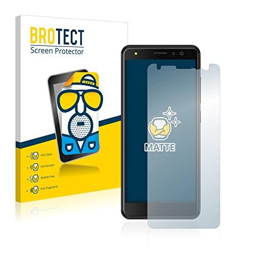 BROTECT 2X Entspiegelungs-Schutzfolie kompatibel mit Energizer Power Max P490S Bildschirmschutz-Folie Matt, Anti-Reflex, Anti-Fingerprint