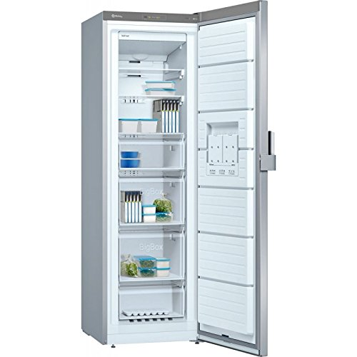 Balay 3GFB642XE Independiente Vertical 242L A++ Acero inoxidable - Congelador (Vertical, 242 L, 20 kg/24h, SN-T, Sistema de descongelado, A++)