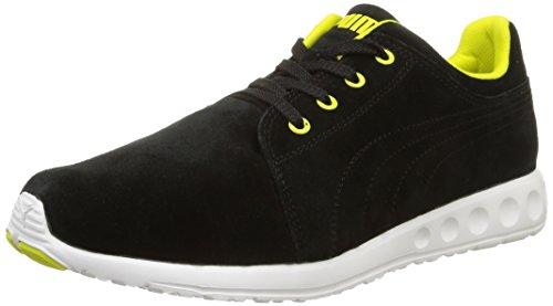 PUMA Carson Runner Suede Men's Running Shoes Black Size: 6.5 UK