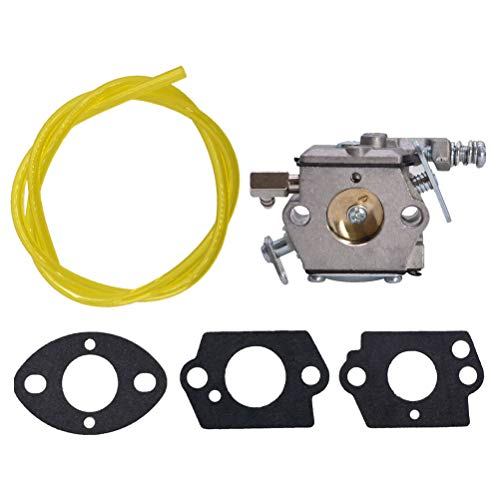 ALL-CARB Carburetor Fits for Tecumseh TC200 TC300 640347 640347A TM049XA Engines with Gasket Fuel Line Fuel Filter