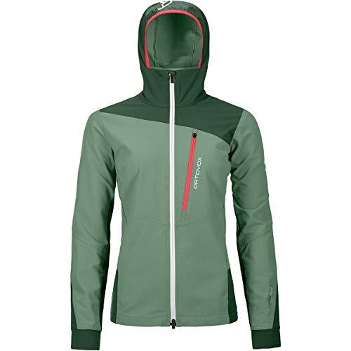 ORTOVOX Damen Pala Jacket W Weste, grüne Insel, M