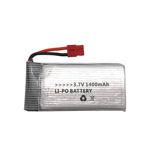 RFGTYH Batería lipo de 3,7 v 1400 mAh para SYMA X5 X5C X5S X5SC X5SH X5SW X5UW HQ898B HQ859B H11D H11C M18 H5P T64 T04 batería Yellow