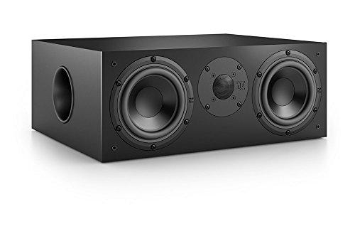 Nubert nuBox CS-413 Centerlautsprecher | Lautsprecher für Heimkino & Musikgenuss | Stimmen auf hohem Niveau | Passive Centerbox mit 2 Wege Technik | Kompaktlautsprecher Schwarz