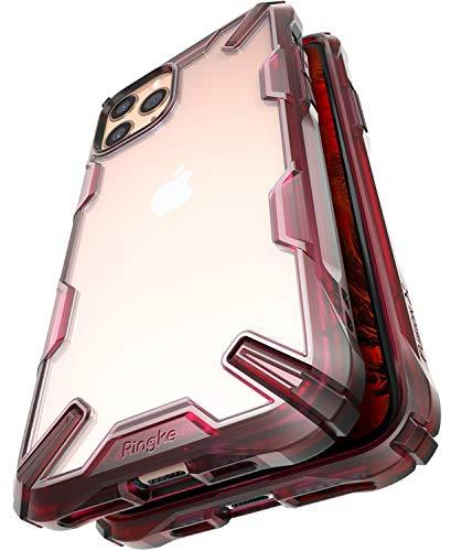 Ringke Fusion-X Diseñado para Funda Apple iPhone 11 Pro, Transparente al Dorso Carcasa iPhone 11 Pro 5.8