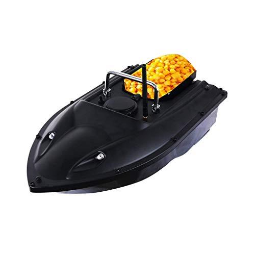 WQQWQQ Barco de Cebo, Control Remoto Pesca Bait Boat, RC Pesca Bait Boat Electric Wireless 500M Control Remoto Finder Finder Bait Boat, Arrastre de Pesca con Control Remoto. (Color : Black)