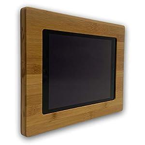 NobleFrames Tablet Wandhalterung für iPad Air1/2, iPad 5, iPad 6 und iPad Pro 9,7″ aus Bambus