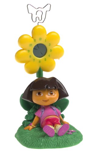 Dora The Explorer Daydreaming Spring Clock And Picture Holder by Dora the Explorer