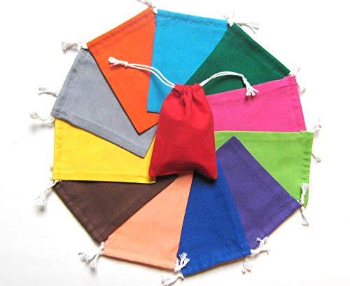 Säckchen zum Zuziehen 17 Farben 5 Größen zur Auswahl