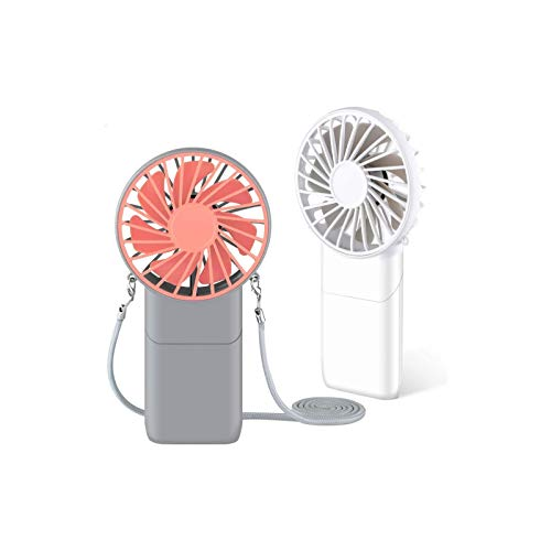 Mini Mobile USB Powered Cooling Fan Flexible Goose neck Air Blower For Desktop PC Computer Laptop Notebook Tablet 3 Pack (Pink/White/Blue)