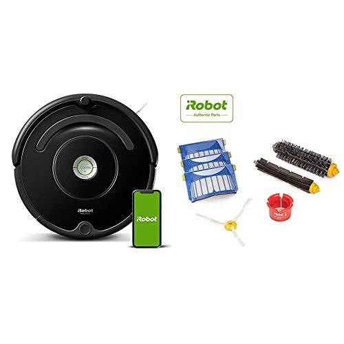 iRobot Roomba 675 Robot Vacuum with Roomba 600 Series Replenishment Kit