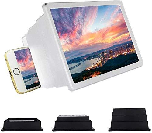 Lupa profesional de 12 pantallas Lupa para teléfono inteligente Pantalla retráctil HD...