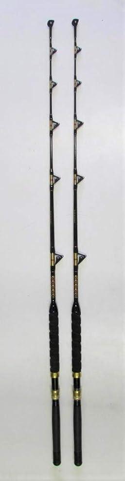 機関はげ具体的にXcaliber マリンペア(2)トーナメントシリーズ 6フィート 50-80ポンド 海水 トローリングロッド