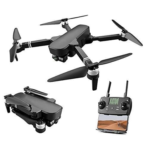 Drone 6K con fotocamera, drone pieghevole, adatto per principianti adulti, modalità headless per il mantenimento dell'altezza del quadricottero RC,una chiave da terra Controllo APP lungo tempo di volo