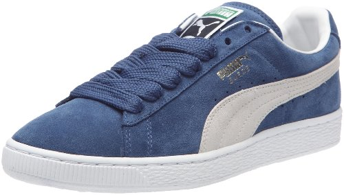 Puma Suede Classic+, Sneaker Unisex – Adulto, Blu (Ensign Blue/White 01), 43 EU