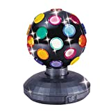 Trisonic Party Time Multi Color 360 Degree Rotating Mirror Disco Light 5'