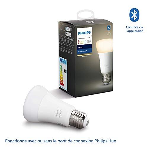 Philips Hue : Ampoule connectée LED E27 2