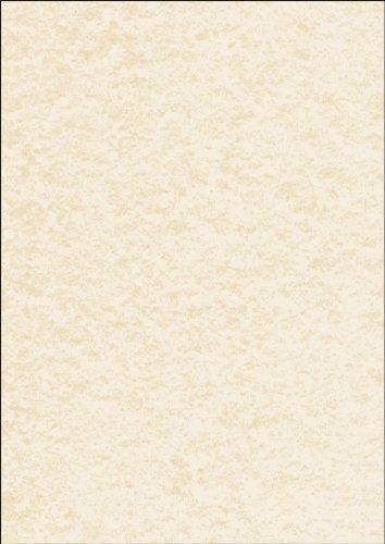 SIGEL DP655 Carta da Lettere / Carta strutturata, pergamena champagne, A4, 200 g, 50 fogli
