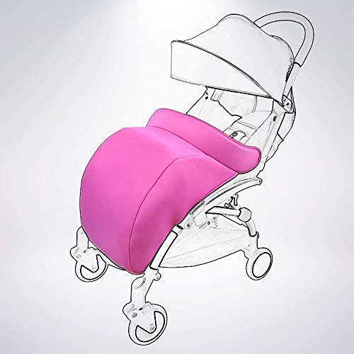 Nouveau-né Universal Foot Muff Poussette Buggy Landau Poussette Snuggle Couverture Coupe-Vent Imperméable À L'eau (Violet)