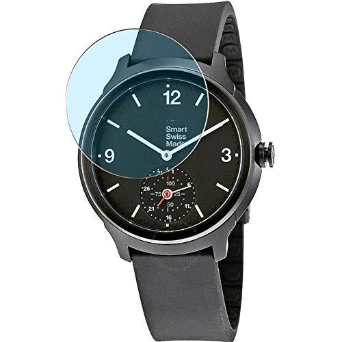 Vaxson 3 pellicole protettive anti luce blu compatibili con Mondaine Helvetica 1 Smartwatch Hybrid Watch, protezione schermo [non vetro temperato] Anti Blue Light