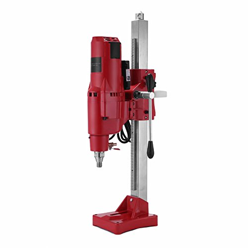 FORAVER Diamond Core Drilling Machine 10 Inch 255mm Diamond Core Drill Rig Drilling Machine Diamond Core Drill Stand Wet (255mm Drill)