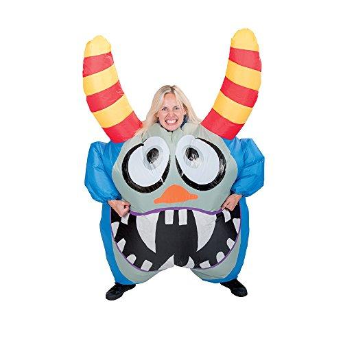Funtime Gifts PT8350 - Disfraz hinchable de monstruo, unisex para adulto