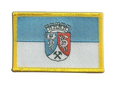 Aufnäher Patch Flagge Deutschland Stadt Oberhausen - 8 x 6 cm