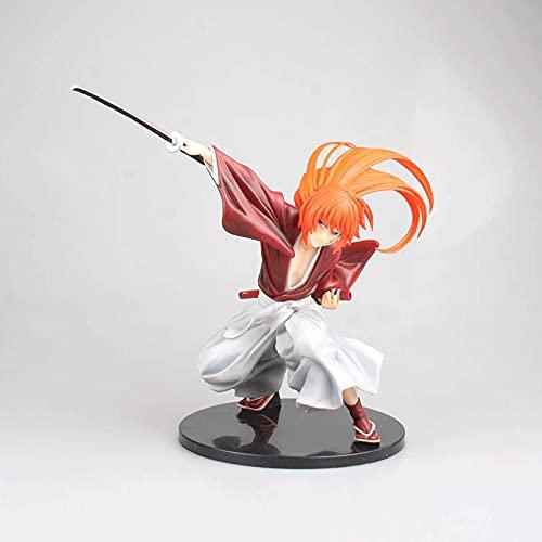 WANGCH Hangman Draw Sword Studio/Himura Kenshin/Rurouni Kenshin 1/7 Figura En Caja/Colección De Modelos De Personajes De Dibujos Animados De PVC Juguetes/Decoraciones Artesanales De Escritorio H7.48i