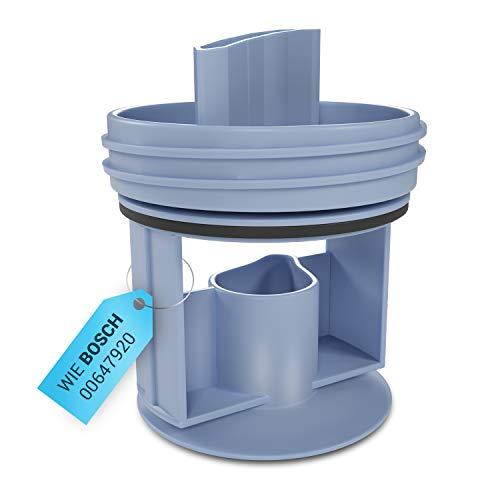 Flusensieb Abflusssieb für Waschmaschine Ersatz für Bosch 00647920 Waschmaschinezubehör Fusselsieb Waschmaschinen Sieb Zubehör für Wäschetrockner Ablaufpumpe Pumpe für Waschmaschine
