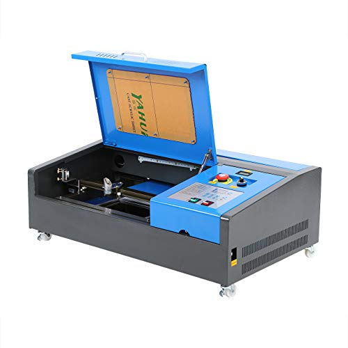 Samger 40W CO2 Laser Graviermaschine 220V Laser Engraver 300x200mm Laser Cutting Machine USB Port Laser Engraving Cutter