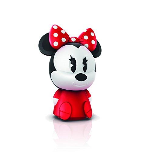 Philips Disney SoftPal Nachtlicht Micky Maus, Tischlampe, 1 x 1 W, Integrierte LED, Synthetik, rot