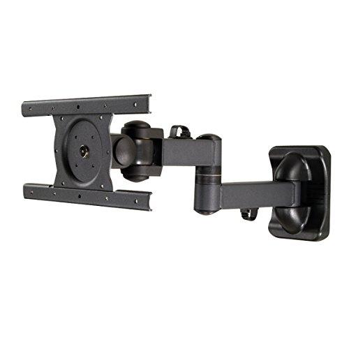 Phoenix Technologies phlcd178nbb articolato-supporto Wandhalterung, Doppelarm, für Fernseher, bis 22kg, Farbe: schwarz