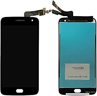 iXuan per Motorola Moto G5 Plus XT1684 XT1685 XT1687 Touch Screen Vetro Display LCD Digitizer Assembly (Senza Cornice) (Nero)