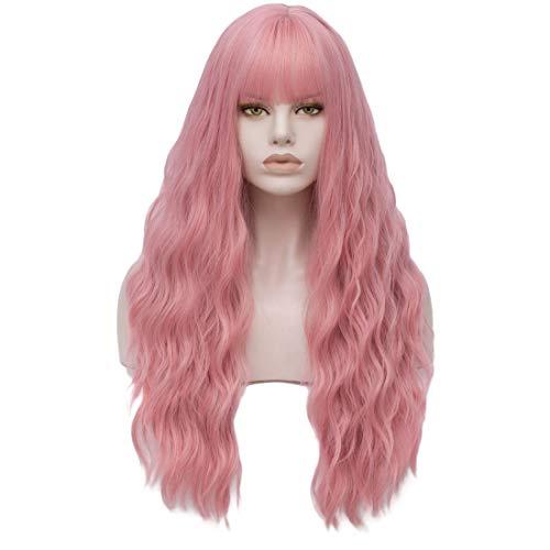 comprar pelucas mujer rizado largo online