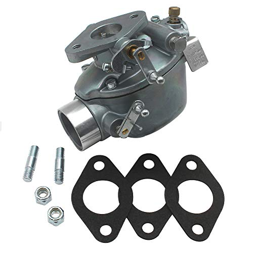 KIPA Carburetor For Ford 600 620 630 640 650 660 700 740 800 820 840 850 860 900 950 960 NAA Tractor With Marvel-Schebler TSX580 Carb 134 Cubic Inch Engine Replace B4NN9510A EAE9510D 0-13880