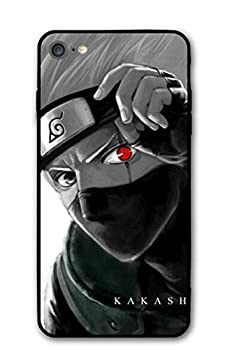 GFJGU Naruto Kakashi Anime Manga Comic Theme Case for Apple iPhone 6 / iPhone 6s / iPhone 6p / iPhone 6sp / iPhone 7 / iPhone 8 / iPhone 7 Plus/iPhone 8 Plus/iPhone X/iPhone Xs  iPhone 6/6s