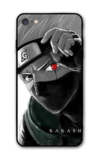 GFJGU Naruto Kakashi Anime Manga Comic Theme Case for Apple iPhone 6 / iPhone 6s / iPhone 6p / iPhone 6sp / iPhone 7 / iPhone 8 / iPhone 7 Plus/iPhone 8 Plus/iPhone X/iPhone Xs (iPhone 6/6s)
