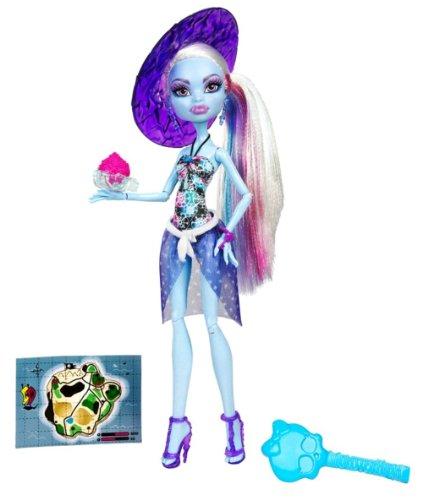 Monster High - BCH97 - Poupée - Tenue Plage - Abbey