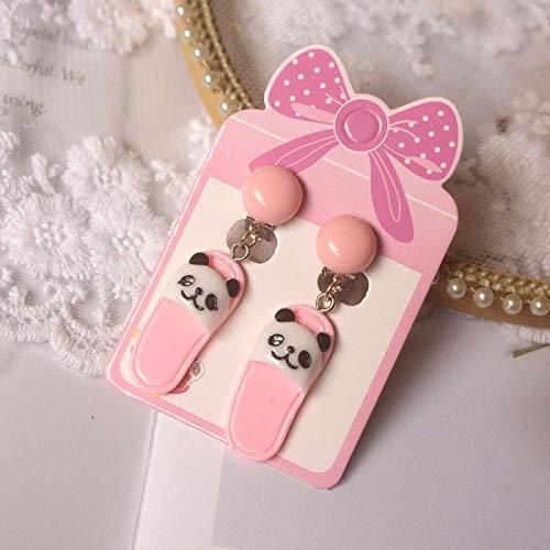 Cute Mermaid Animals Cats Flowers Stars Clip On Earrings For Kids Girls Earrings Jewelry No Pierced Children Earrings Style20