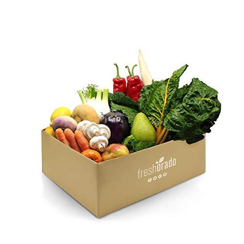 freshorado INNEREN WERTE-BOX 6 kg gerettetes Obst und Gemüse (2 Personen)