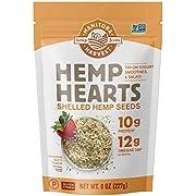 Manitoba Harvest Hemp Hearts Shelled Hemp Seeds, 8oz (Pack of 8); 10g Plant-Based Protein & 12g Omegas per Serving, Whole 30 Approved, Vegan, Keto, Paleo, Non-GMO, Gluten Free
