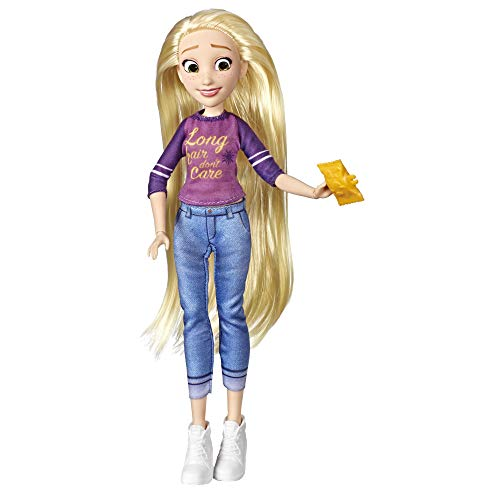 Disney Princess Comfy Squad Rapunzel, Ralph Breaks the Internet Movie Doll with Comfy Clothes and Accessories