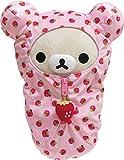 San-X Original Rilakkuma Sleeping Bag Plush Series (Korilakkuma - Strawberry)
