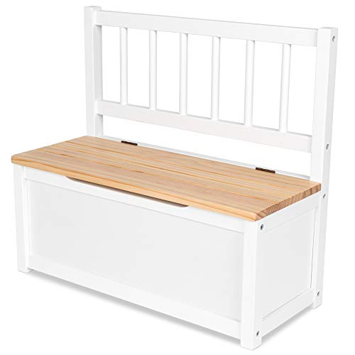 IB-Style - Kindersitzgruppe NOA   3 Kombinationen   1x Truhenbank - Stuhl Truhenbank Kindermöbel Tisch Kindertisch Kinderstuhl
