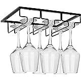 ワイングラス ホルダー ラック セット 収納 家庭 業務用 - ゴブレットホルダーに適しています(3列) (1pcs)