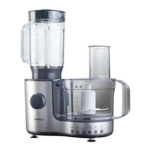 Kenwood FP195 Compact Food Processor - Silver And Grey