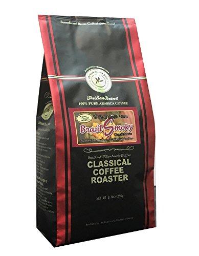 コーヒー豆 ブラジルスモーキー ブレンド 250g (8.8oz) 極細挽 クラシカルコーヒーロースター 100%アラビカ豆